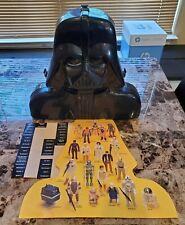 1980 Darth Vader Carrying Case STAR WARS Vintage Original w Insert Stickers
