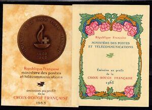 Carnet Croix Rouge YV 2012 & 2014 de 1963 & 1965 N** , Cote 24 Euros (ET125)