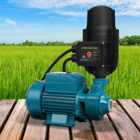 Clean Water Garden Pump High Pressure Tank Rain Farm Irrigation Control Auto NEW