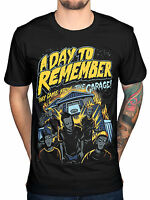 A Day To Remember Band Mens Black Cotton Top T-Shirt Tee