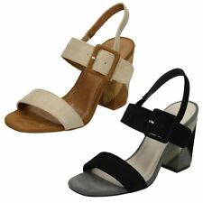 Strappy, Ankle Straps Standard (D) Casual Heels for Women