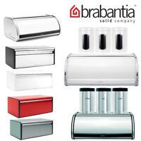 Brabantia Roll Top Bread Bin Canister Kitchen Storage Tea Coffee Sugar