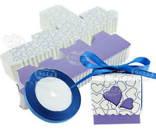 50Pcs Sweet Cake Candy Gift Boxes Small Wedding Favours Party Decorations