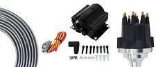 Billet Distributor Ceramic 8.5mm Spark Plug Wires Pontiac 350 389 400 421 455 V8
