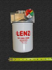 Waste Oil Heater Parts Hydraulic fuel oil filter assembly LENZ CP-1282-100M