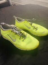 Women's Nike Free TR Fit 4 Tennis Bright Yellow Gray Size 8.5