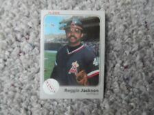 REGGIE JACKSON #93 1983 FLEER BASEBALL CARD (EXCELLENT CONDITION)