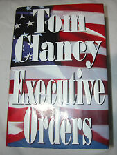 Executive Orders by Tom Clancy 1996, Hardcover, Literature, U.S.A