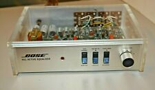 Rare Vintage Bose 901 Series Ii Active Equalizer with Clear Case