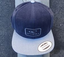 O'neill Surfing Co. Pana Dark Navy Snapback Hat Cap HTONE-5