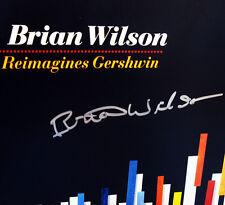 SIGNED: Brian Wilson Reimagines Gershwin vinyl LP-Ltd Ed No. 0857 (2010)