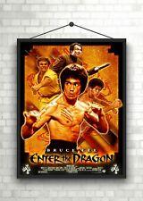 Bruce Lee introducir el dragón Clásico Película Póster Art Print A0 A1 A2 A3 A4 Maxi