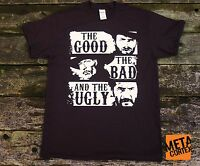 The Good the Bad and the Ugly - Clint Eastwood Western Movie T-shirt