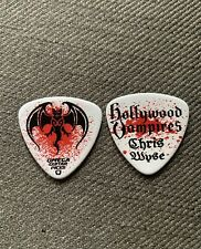Hollywood Vampires Chris Wyse 2019 Tour Issue Guitar Pick Plectrum The Cult