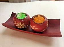 Aromatic spa Scented candle floating handcraft gift flower (Thai Handmad)