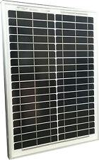 20W 20 Watt Mono Solar Panel panneau solaire 12V RV Boat Trailer Camping