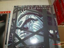 JACKSON BROWNE - Live In The Balance -  LP Record Album Exc