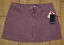 "Bnwt Women's Oakley Denim Mini A Line Skirt UK8 W27"" Flint New"