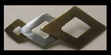 Original adorno en la cintura nuevo koppelschnalle acoplamiento F. 4cm ancho cinturón bicolor