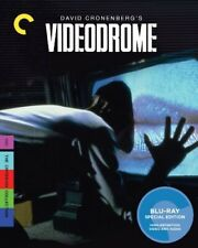 Videodrome Criterion Collection Region 1 Blu-ray