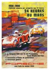 Porsche *POSTER* 24 Hour Le Mans race car 356s SPEEDSTER 911 - AMAZING ART PRINT