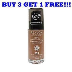 Revlon Colorstay Base 30ml Pour Combinaison / Peau Grasse Riche Fauve 350