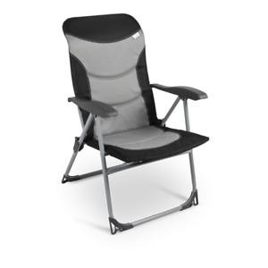 The new Kampa Skipper folding camping armchair - adjustable backrest