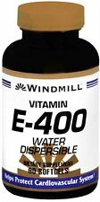 Windmill Vitamin E-400 Softgels Water Dispersible 90 Soft Gels