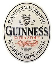 Guinness Extra Stout Ireland Beer Sign 3D Collectible Bar - Free Shipping