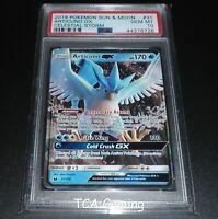 PSA 10 GEM MINT Articuno GX 31/168 SM Celestial Storm HOLO RARE Pokemon Card
