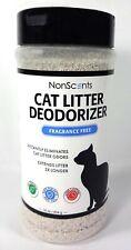 NonScents Cat Litter Box Deodorizer Odor Eliminator, Fragrance Free, 16 oz