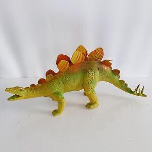 """Stegosaurus Dinosaur Dur Mei 1986 Vintage 80's 15"""" Figure Toy"""