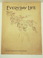 EVERYDAY LIFE MAGAZINE MAY 1931 COUNTRY HOME NEWS