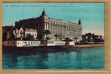 Cpa Cannes - le Carlton Hôtel et les bains de la Croisette rp148