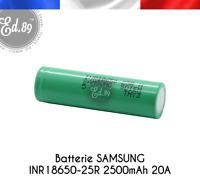 Batterie SAMSUNG INR18650-25R 2500mAh 20A