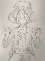 Luffy One Piece Video Hand-drawn Original Setting Part 04 Genga Anime ks01
