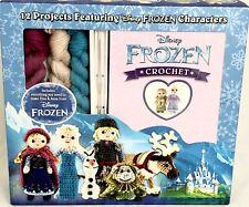 Frozen Crochet Kit 12 Patterns Thunder Bay Press Katie Galusz New