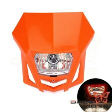 Motocross Headlight For KTM EXC XC SX Enduro R Motorcycle Orange New Arrival Hot