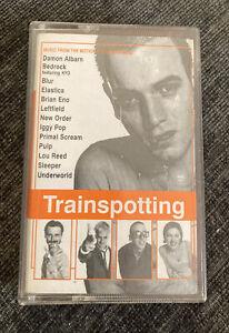 Trainspotting Soundtrack Original Cassette Retro 1990s Vintage