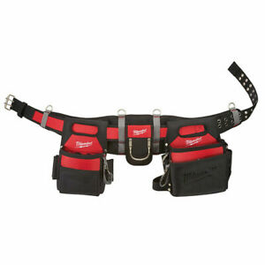 Milwaukee 48-22-8110 Electricians and Carpenters Work Belt 29 pockets NEW 2020