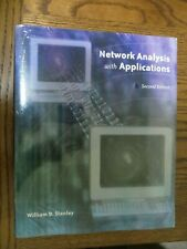 NEW, Network Analysis with Applications Second Edition Stanley w Multisim Guide