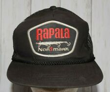 Rapala Normark Fishing Mesh Trucker Hat Snapback Vintage