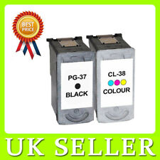 PG-37 & CL-38 Black & Colour Ink Cartridges for Canon Pixma MP190 MX300
