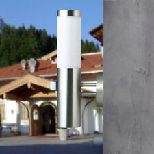 Edelstahl Wand Aussenleuchte Aussenlampe mit Bewegungsmelder und OSRAM LED IP44