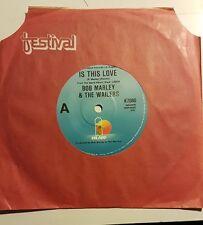 "Bob Marley & The Wailers. Is This Love.  7"" vinyl  45rpm.  Aust. Pr."