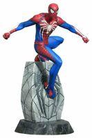 Diamond Select Gallery Marvel Gameverse Spider-Man PVC Diorama 25cm Nuovo