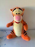 """Mattel Disney Fisher Price large 20"""" tall stuffed Plush Tigger Winnie Pooh Tiger"""