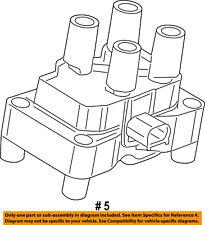 FORD OEM 14-18 Fiesta-Ignition Coil CM5Z12029F