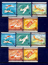 MONGOLIA Airplanes 10 Stamps 2 Sets Lot Used