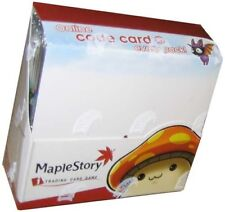 Maple Story ITCG Internet Trading Card Game Booster Box 24 Packs
